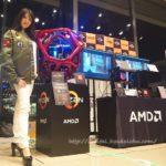 AMDとモデルさん